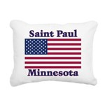 I Love Saint Paul Rectangular Canvas Pillow