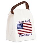 I Love Saint Paul Canvas Lunch Bag