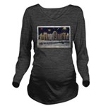 Ice Palace 1937 Long Sleeve Maternity T-Shirt