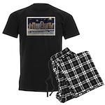Ice Palace 1937 Men's Dark Pajamas
