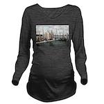 Dellwood Club Long Sleeve Maternity T-Shirt