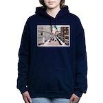 Sixth Street 1920s Women's Hooded Sweatshirt