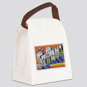 Greetings from St Paul 1937 Canvas Lunch Bag
