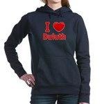 I Love Duluth Women's Hooded Sweatshirt