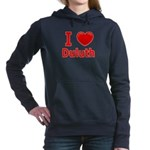 I Love Duluth Women's Hooded Sweatshirt