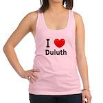 I Love Duluth Racerback Tank Top