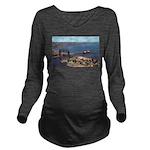 Duluth Harbor Long Sleeve Maternity T-Shirt
