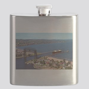 Duluth Harbor Flask
