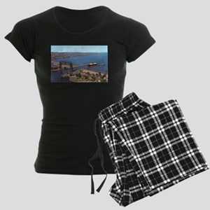 Duluth Harbor Women's Dark Pajamas