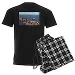 Duluth Harbor Men's Dark Pajamas
