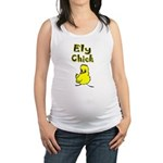 I Love Ely Maternity Tank Top