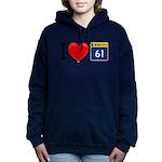 I Love Grand Marais Women's Hooded Sweatshirt