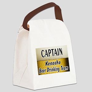 Kenosha Beer Canvas Lunch Bag