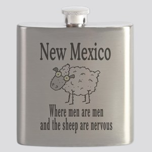 New Mexico sheep Flask