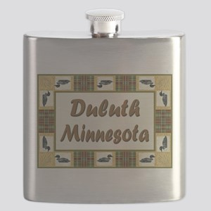 Duluth Loons Flask