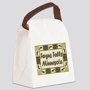 Fergus Falls Canvas Lunch Bag