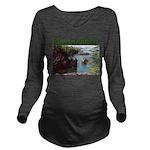 Minnesota Rocks Long Sleeve Maternity T-Shirt