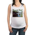 Minnesota Rocks Maternity Tank Top