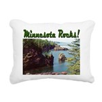 Minnesota Rocks Rectangular Canvas Pillow