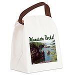 Minnesota Rocks Canvas Lunch Bag