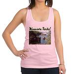 Minnesota Rocks Racerback Tank Top