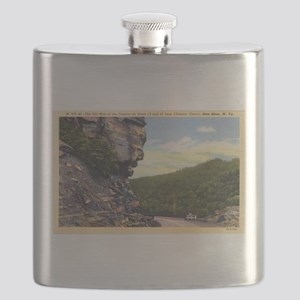 The Old Man of the Canyon Flask