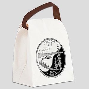 Oregon Quarter Canvas Lunch Bag