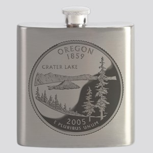 Oregon Quarter Flask