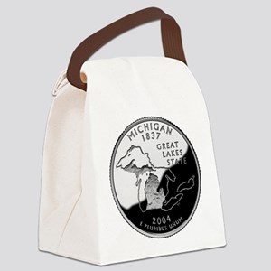 Michigan Quarter Canvas Lunch Bag