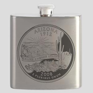 Arizona Quarter Flask