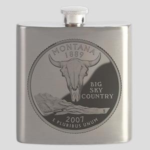 Montana Quarter Flask