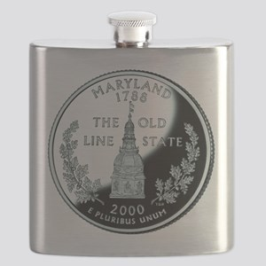 Maryland Quarter Flask