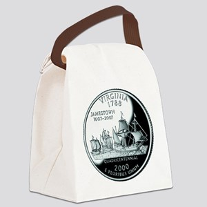 Virginia Quarter Canvas Lunch Bag