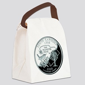 South Carolina Quarter Canvas Lunch Bag