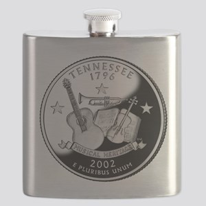 Tennessee Quarter Flask