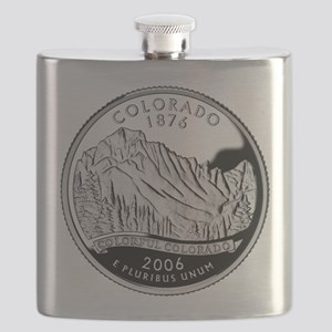 Colorado Quarter Flask