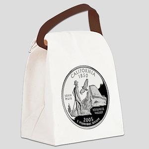 California Quarter Canvas Lunch Bag