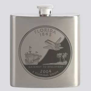 Florida Quarter Flask