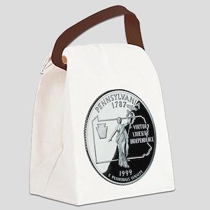 PA Quarter Canvas Lunch Bag