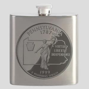 PA Quarter Flask
