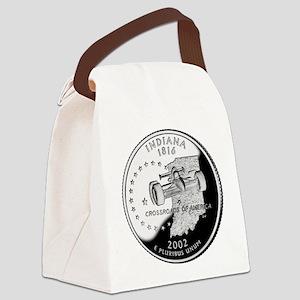 Indiana Quarter Canvas Lunch Bag