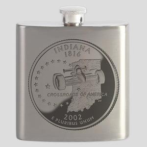 Indiana Quarter Flask