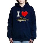 It's Time to Fish Women's Hooded Sweatshirt