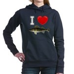It's Time to Fish Women's Hooded Sweatshirt