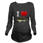 It's Time to Fish Long Sleeve Maternity T-Shirt