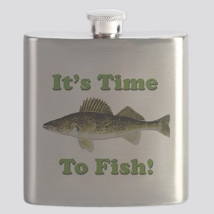 It's Time to Fish Flask