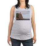 Split Rock Lighthouse 2009 Maternity Tank Top