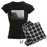 Split Rock Lighthouse 2009 Women's Dark Pajama