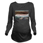 Mesaba Iron Range Long Sleeve Maternity T-Shirt