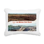 Mesaba Iron Range Rectangular Canvas Pillow